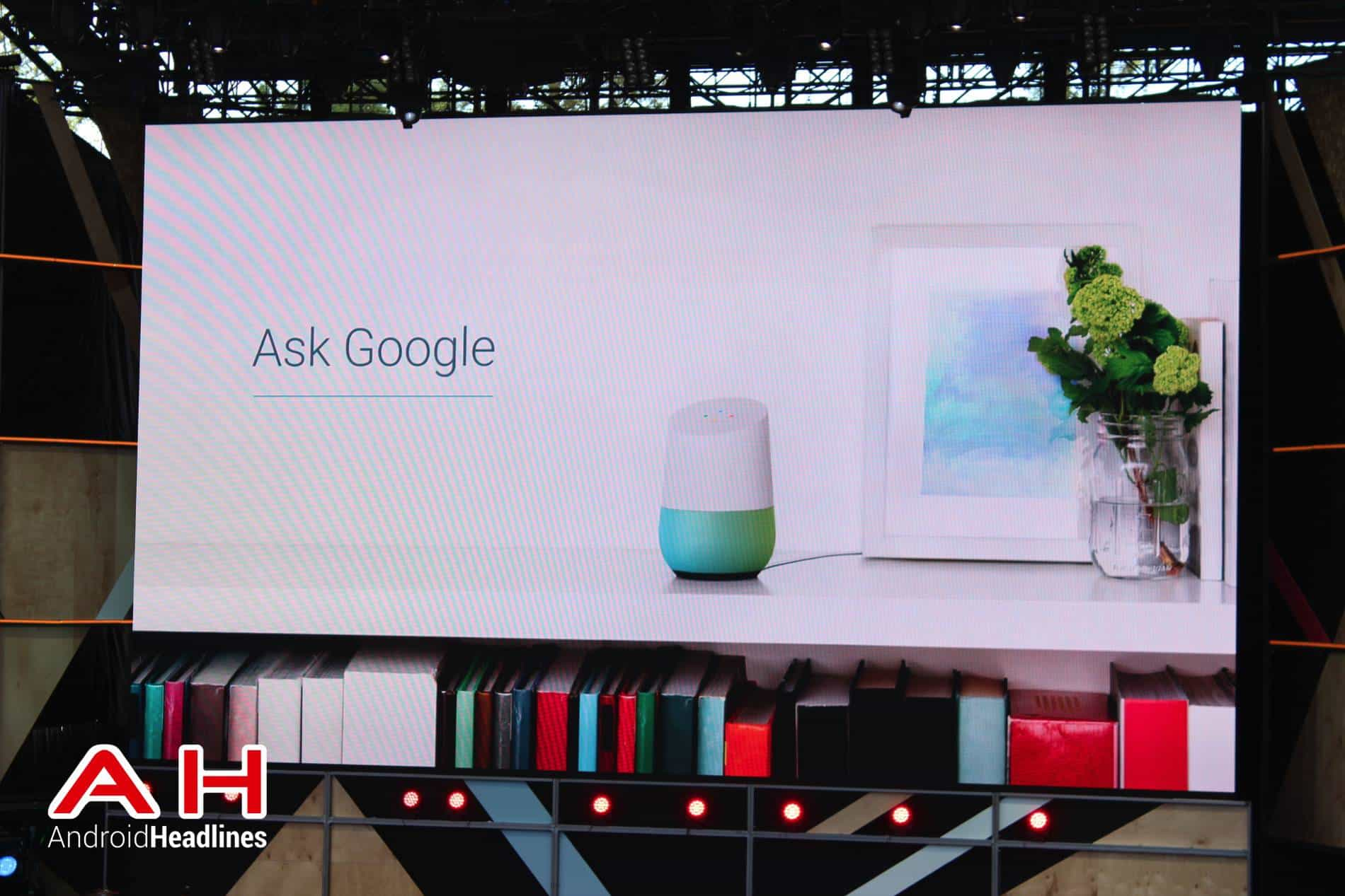 Google IO Keynote Assistant and Home AH 9