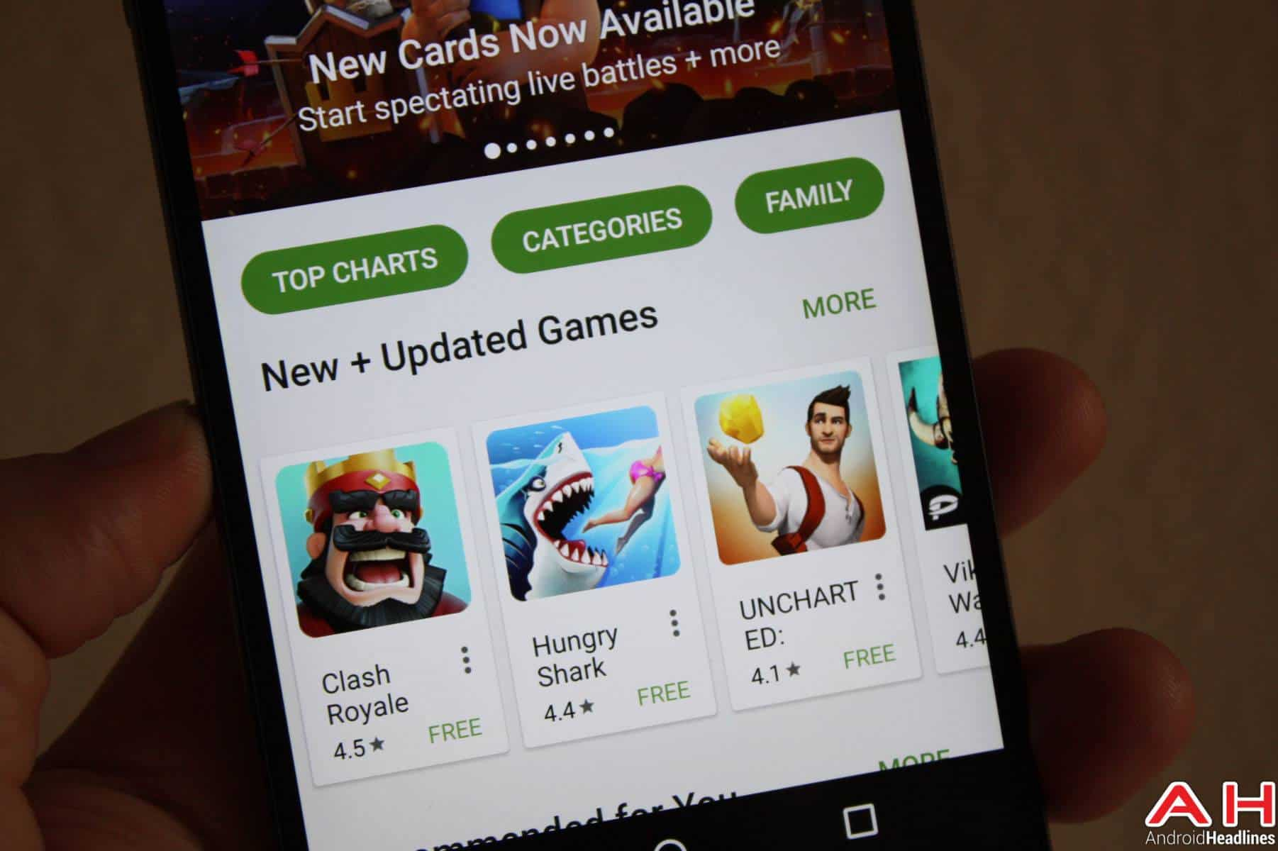 Google Play New & Top Games AH-1