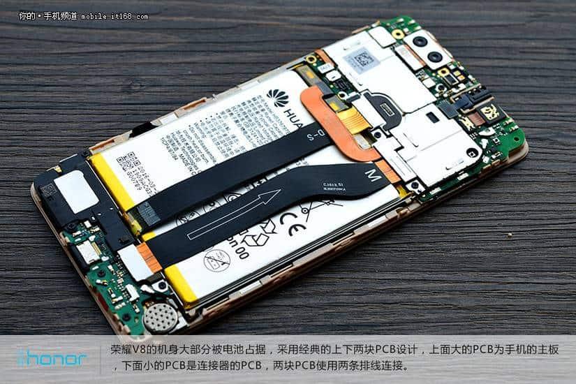 Huawei Honor V8 teardown 11