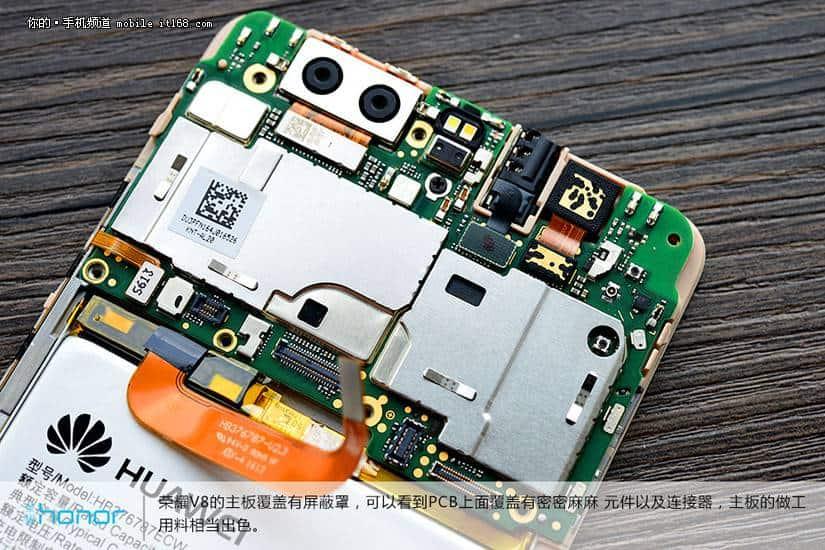 Huawei Honor V8 teardown 16