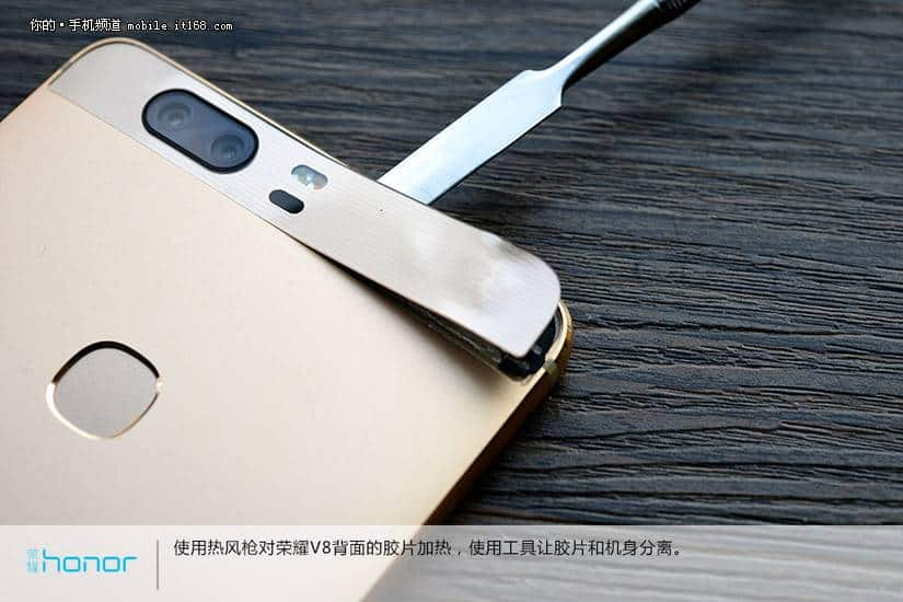 Huawei Honor V8 teardown 3