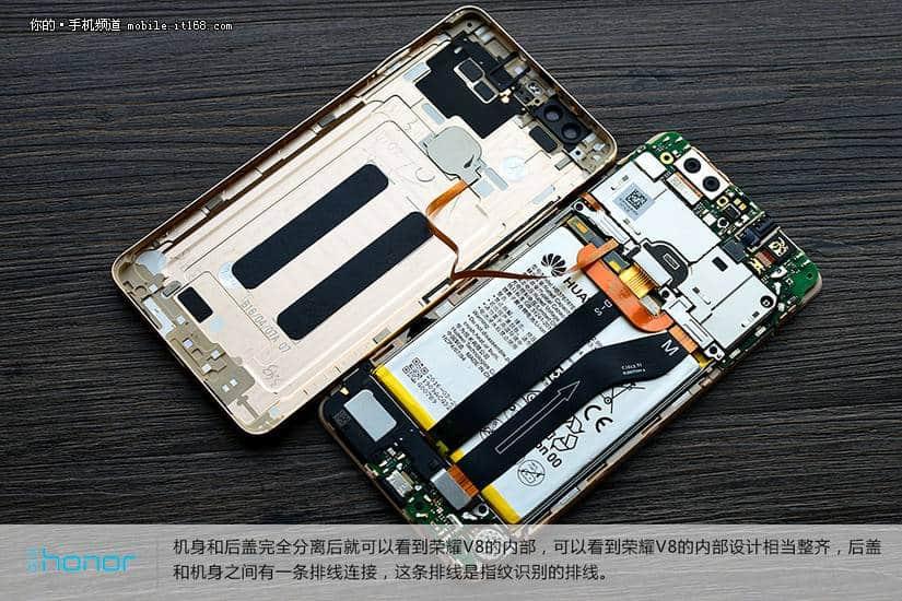 Huawei Honor V8 teardown 7