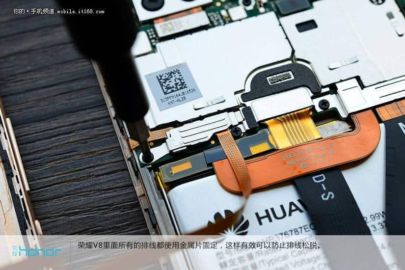 Huawei Honor V8 teardown 8