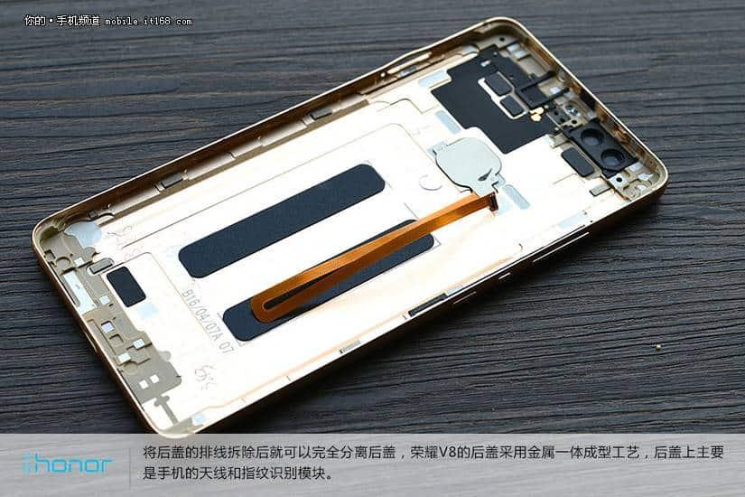 Huawei Honor V8 teardown 9