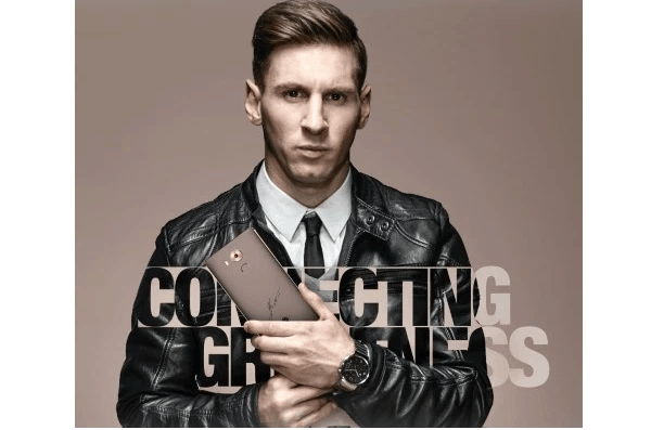 Huawei Mate 8 Lionel Messi edition 3
