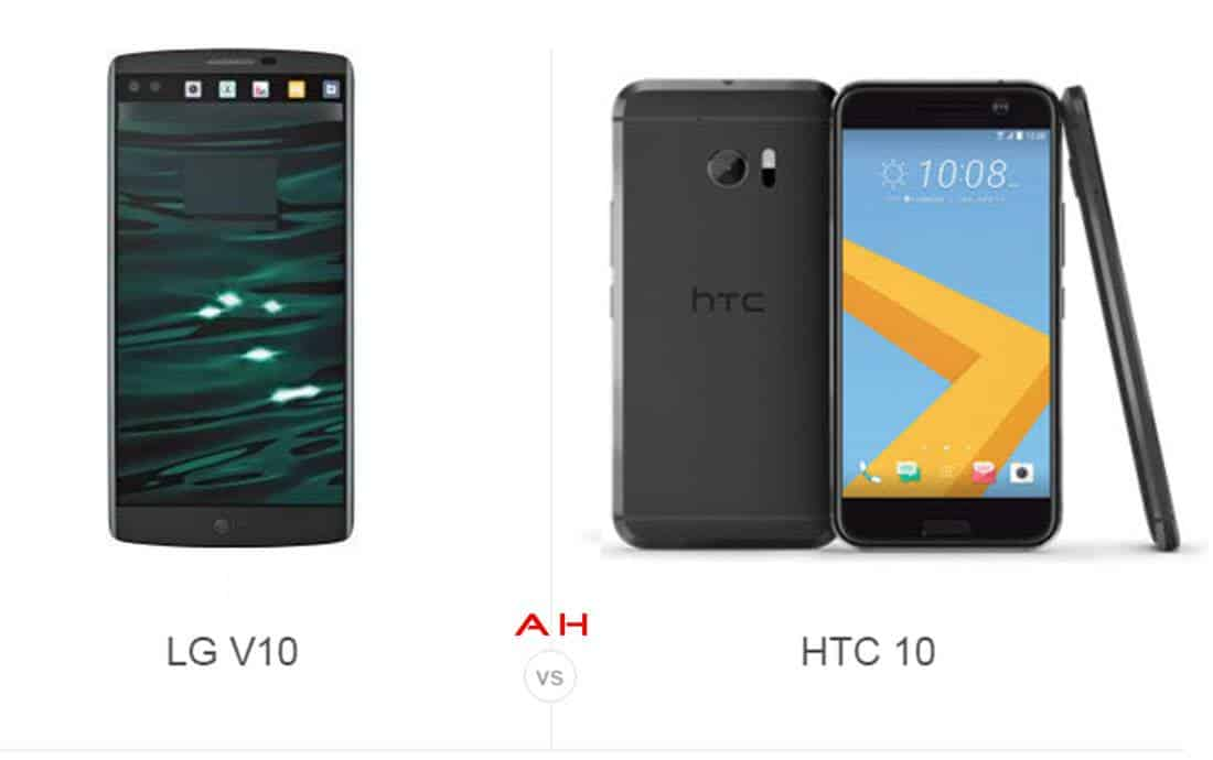 LG V10 vs HTC 10 cam AH