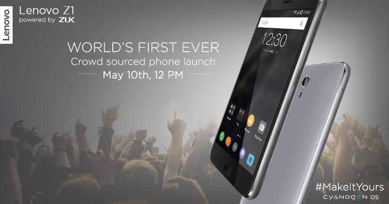 Lenovo Z1 event announcement India_1