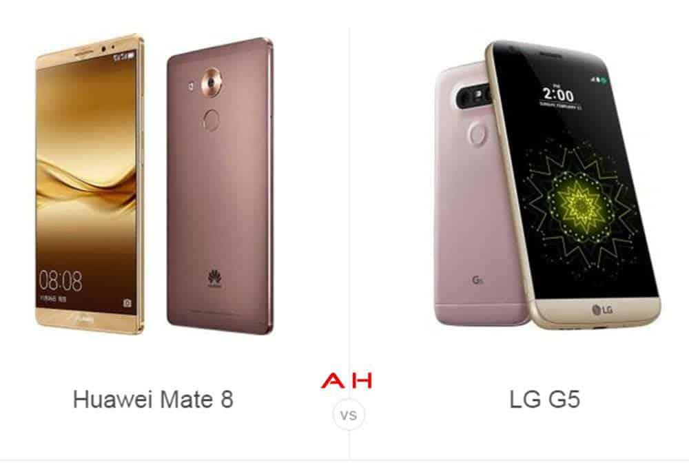Mate 8 vs LG G5 cam AH
