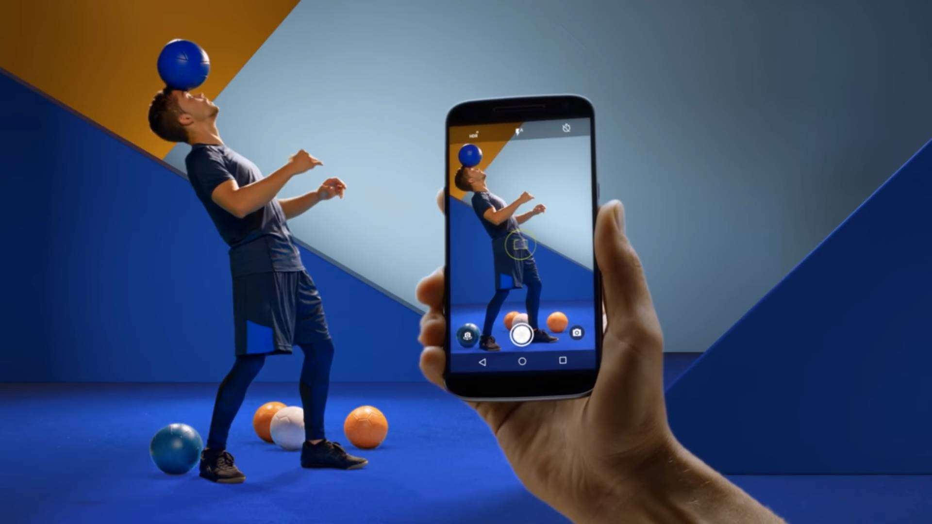 New Moto G4 Advert screenshot