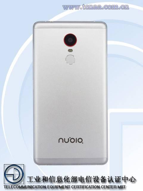 Nubia Z11 Max TENAA 2