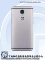OnePlus 3 TENAA 2