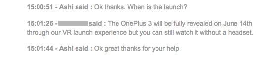 OnePlus June 14 date