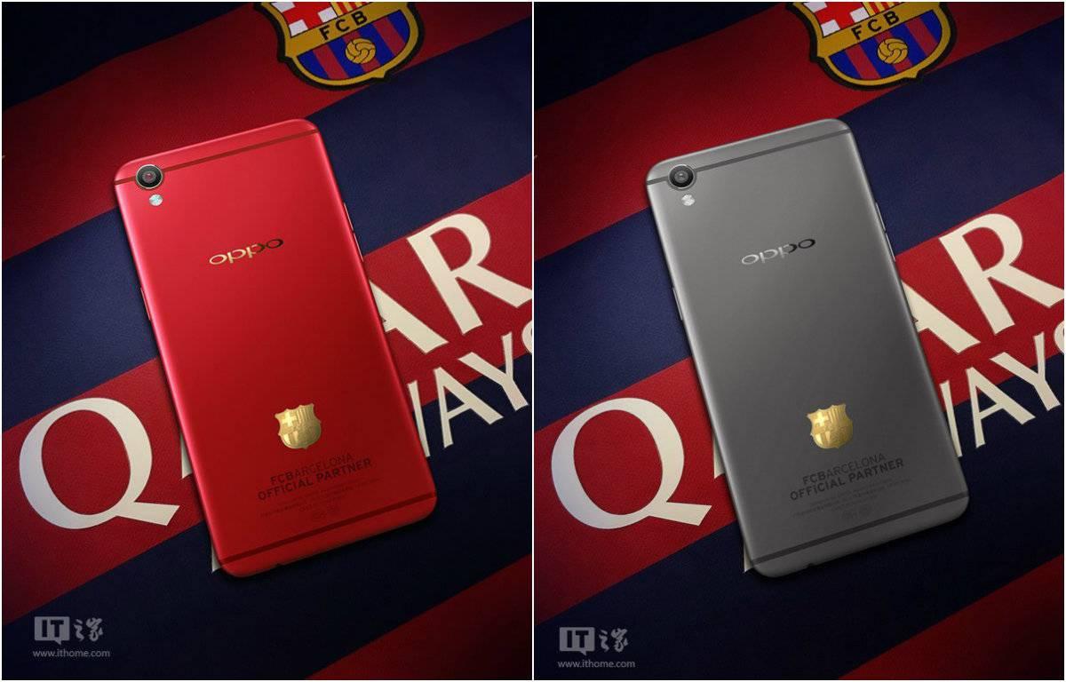 Oppo R9 FC Barcelona edition leak_3