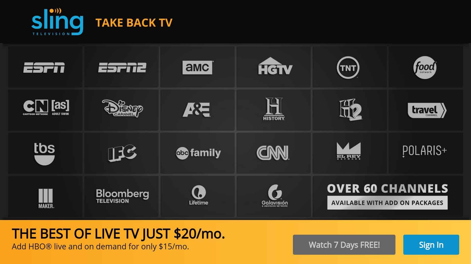 SLING TV ATV