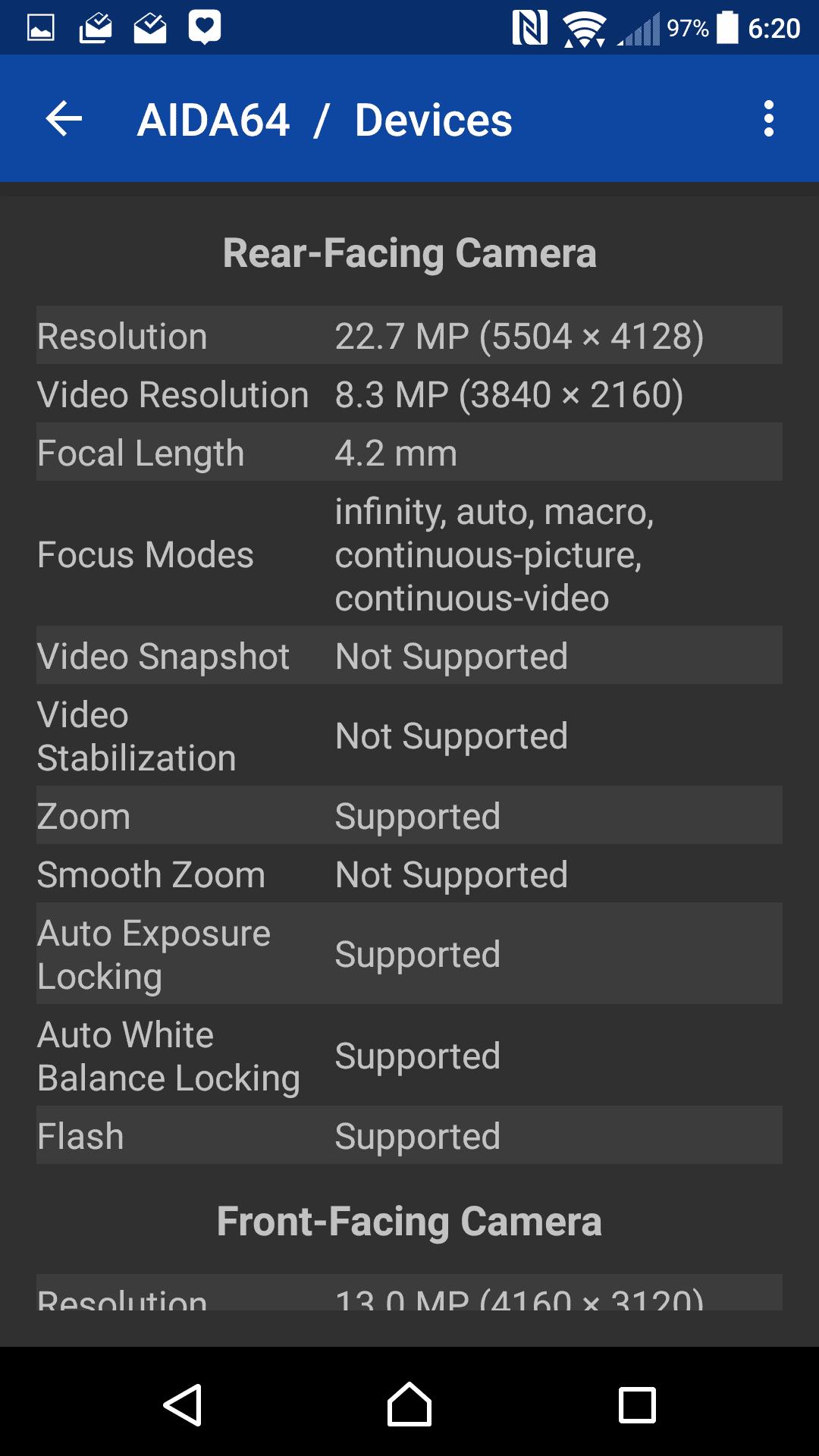 Sony Xperia X specs 06