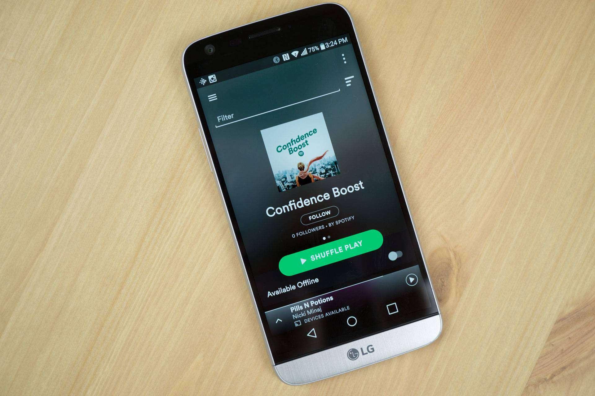 Spotify AH 1 of 1