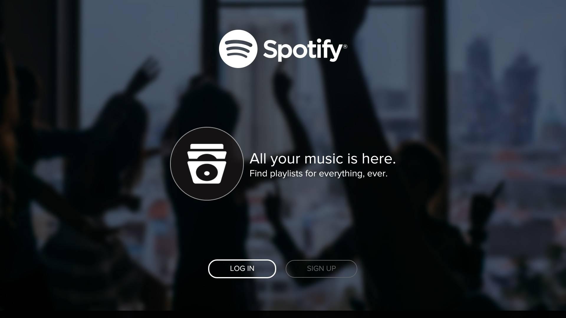 Spotify ATV