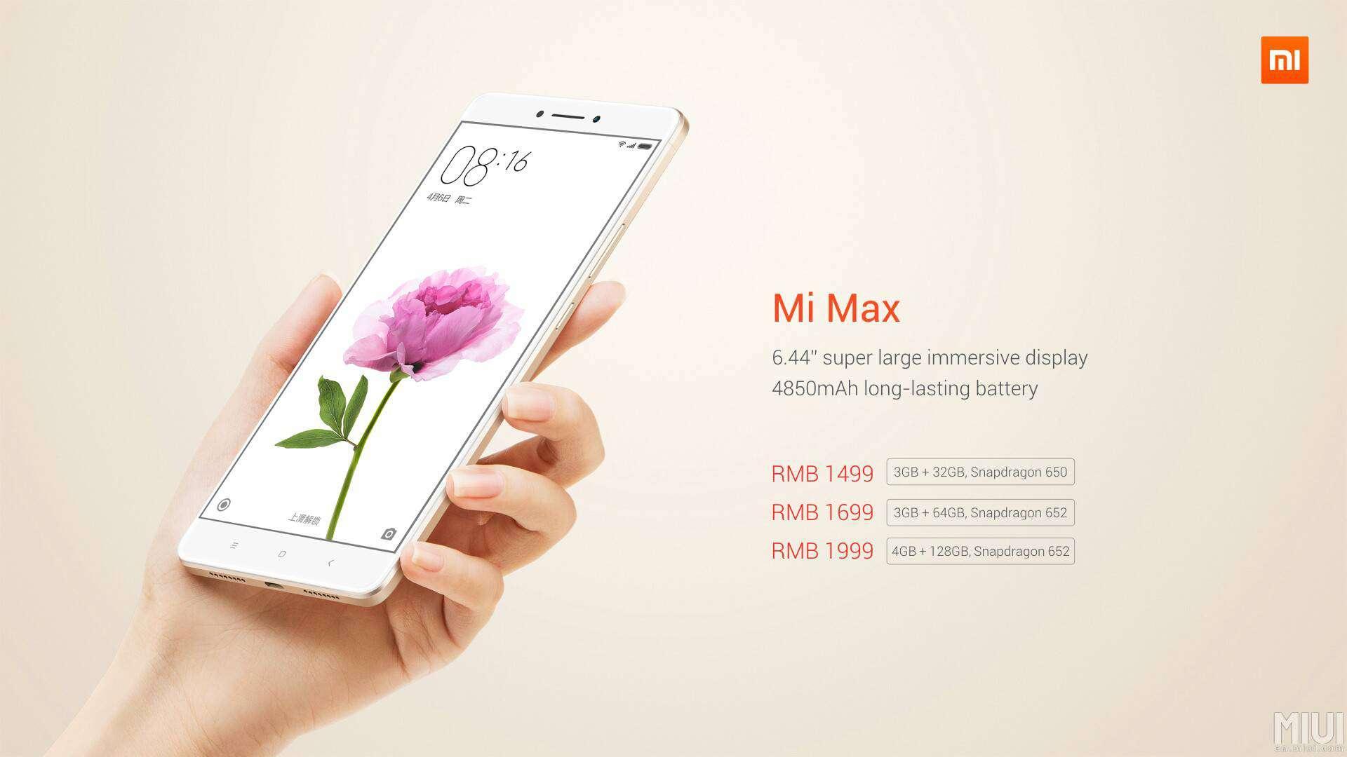 Xiaomi Mi Max 12