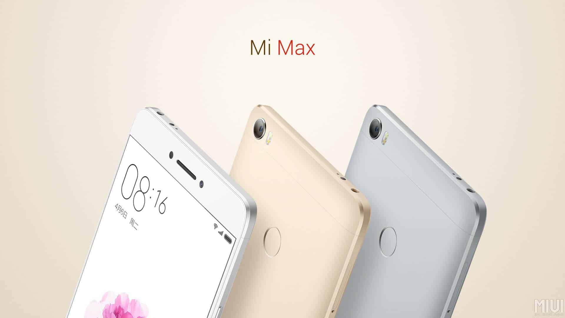 Xiaomi Mi Max 5