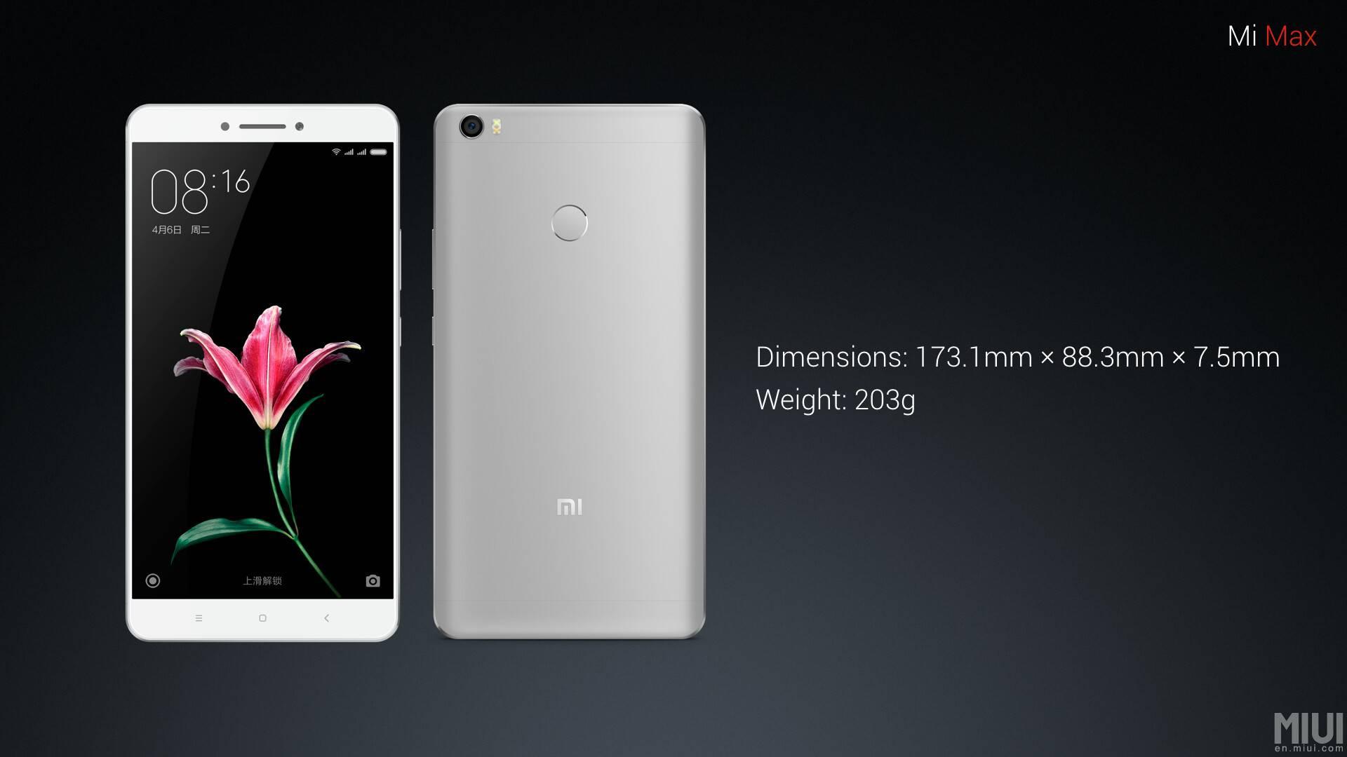 Xiaomi Mi Max 8