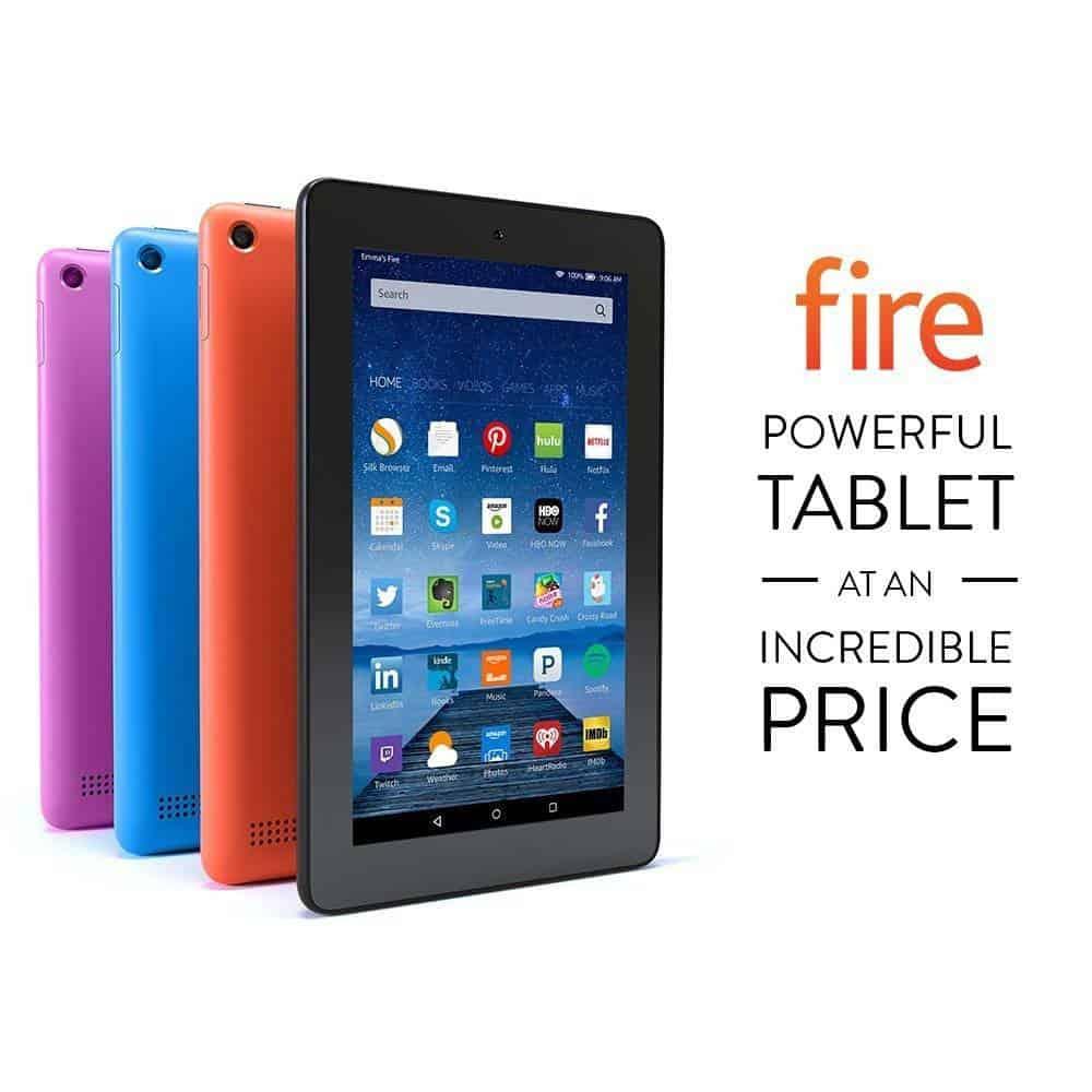 deal amazon fire tablet for 5 2 16. Black Bedroom Furniture Sets. Home Design Ideas
