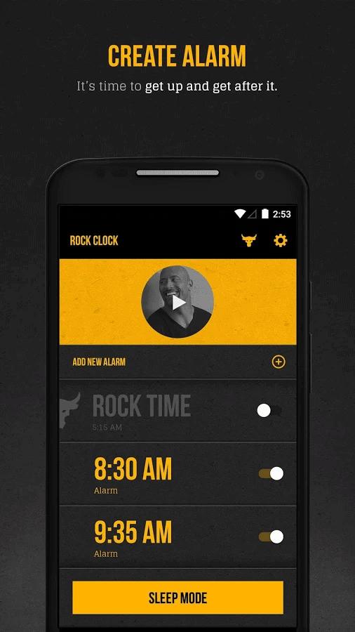 The Rock Clock