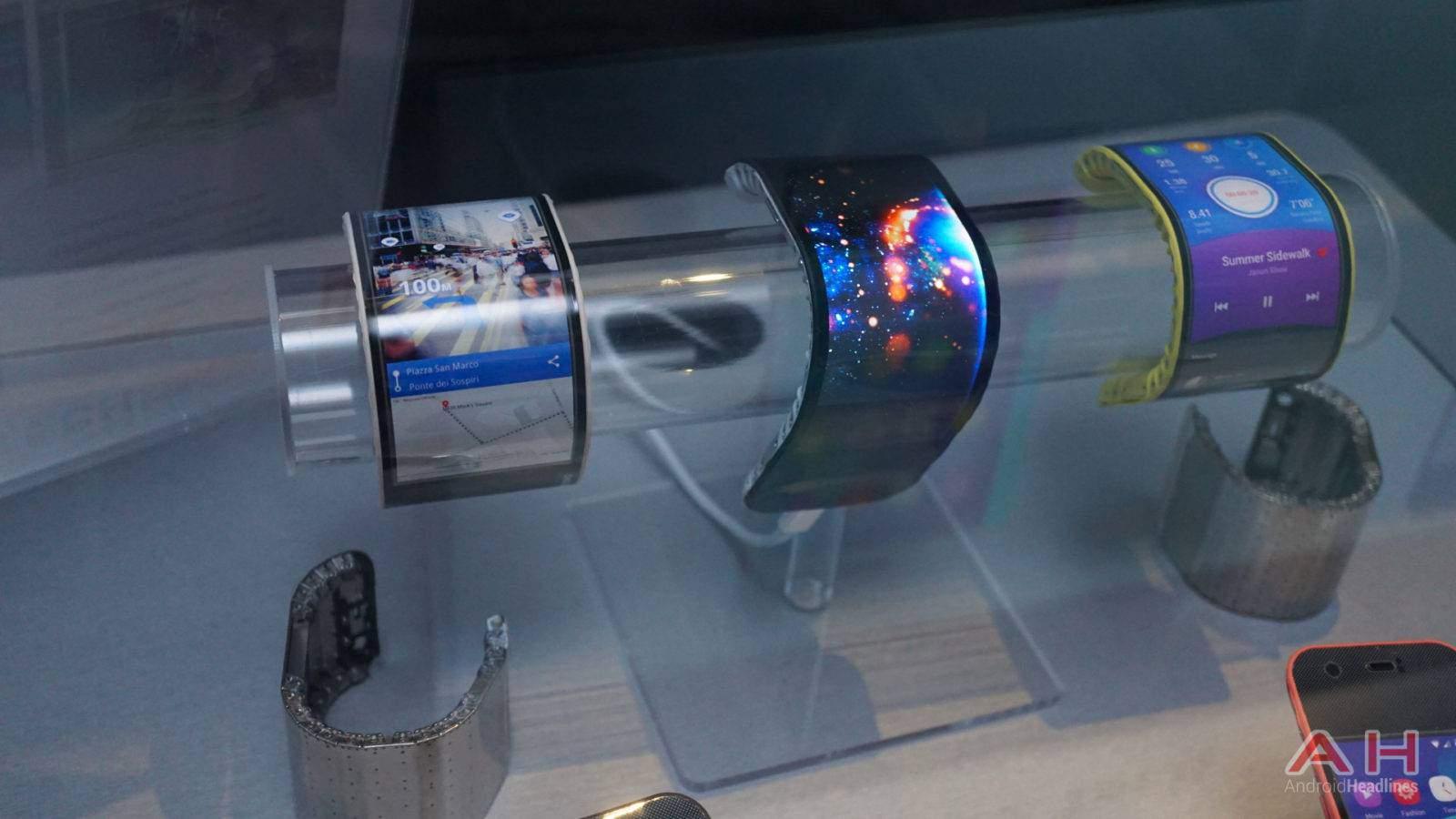 flexible displays Auf der ces zeigen hersteller die neuesten entwicklungen in sachen flexible  displays nicht nur tvs, sondern auch smartphones und.