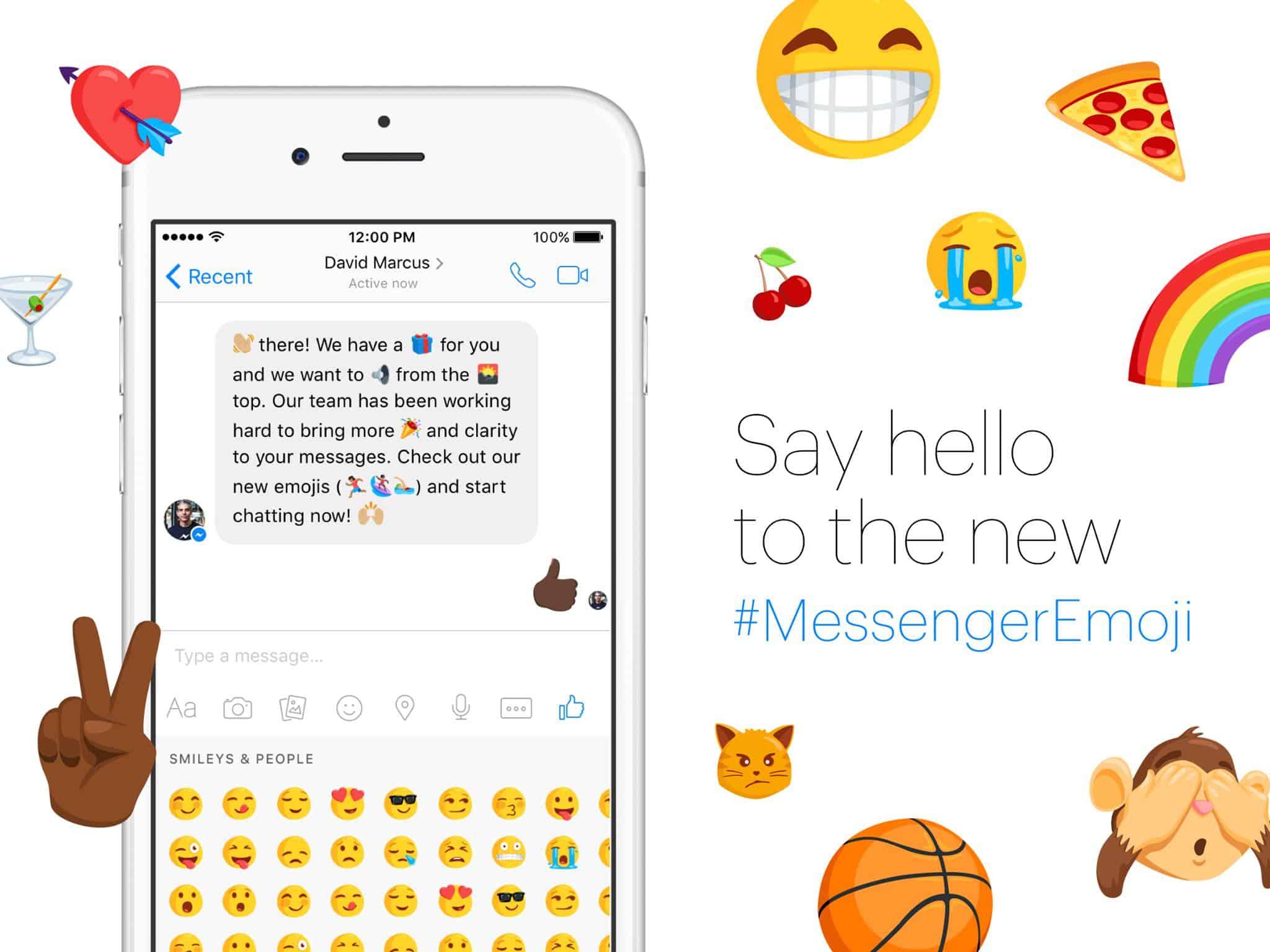 Facebook Messenger Diverse Emoji 1