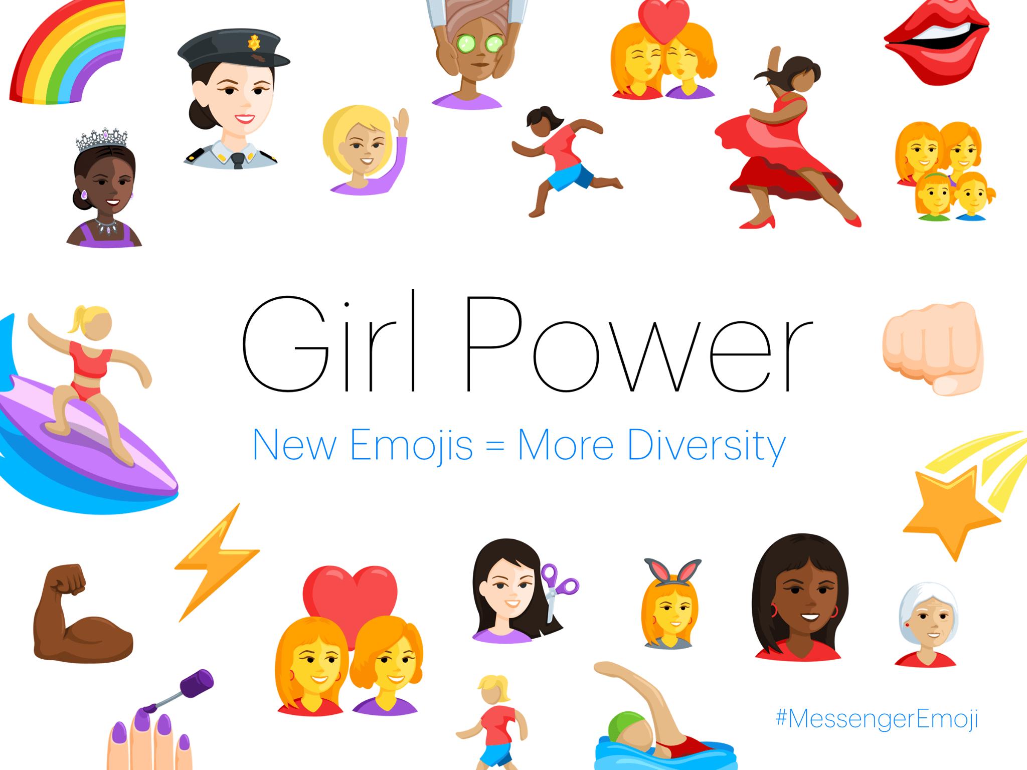 Facebook Messenger Diverse Emoji 3