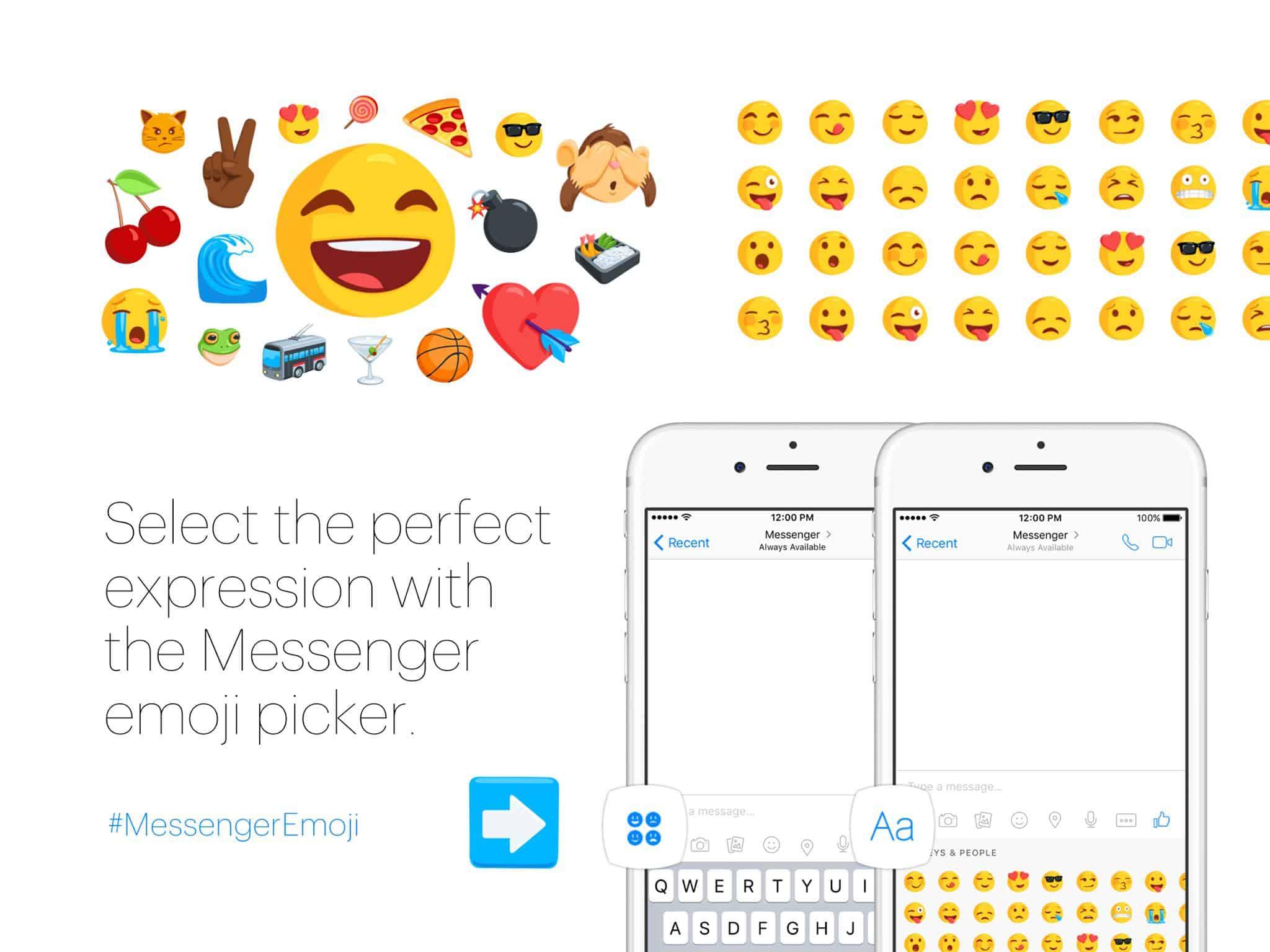 Facebook Messenger Diverse Emoji 5