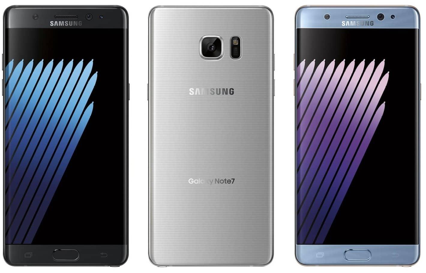 Galaxy Note 7 Leak evleaks 2