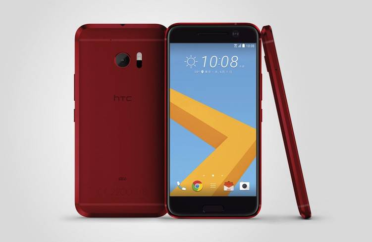 HTC 10 Camellia Red_1
