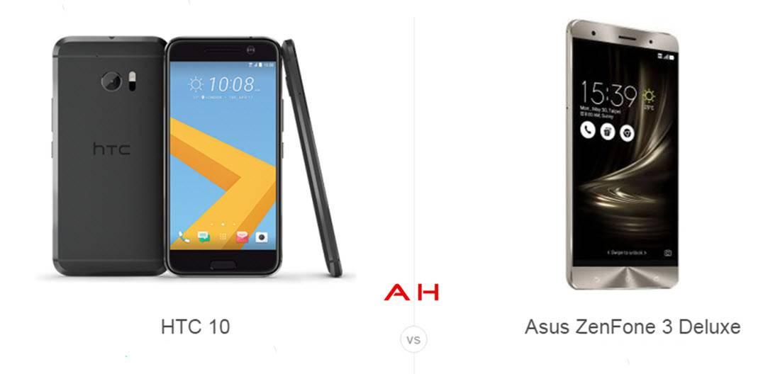 HTC 10 vs ZenFone 3 Deluxe cam AH