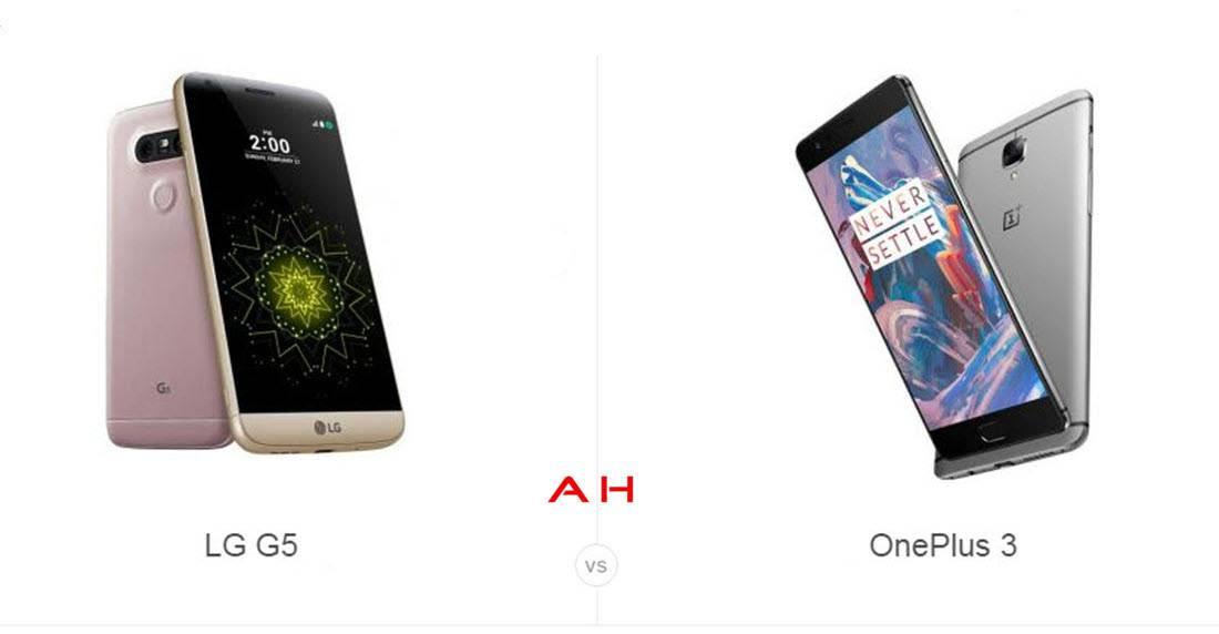 LG G5 vs OnePlus 3 cam AH