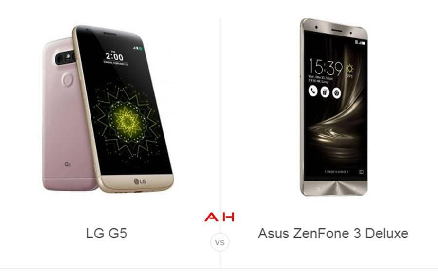 LG G5 vs ZenFone 3 Deluxe cam AH