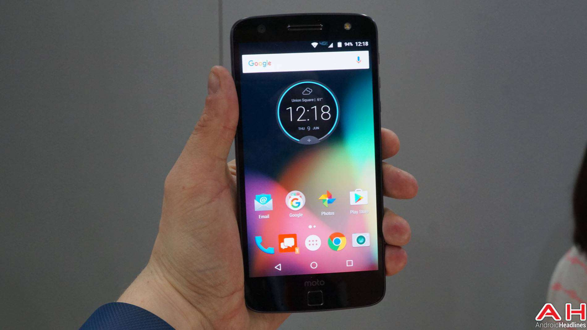 Lenovo Moto Z DROID Edition 2016 Hands On AH-5