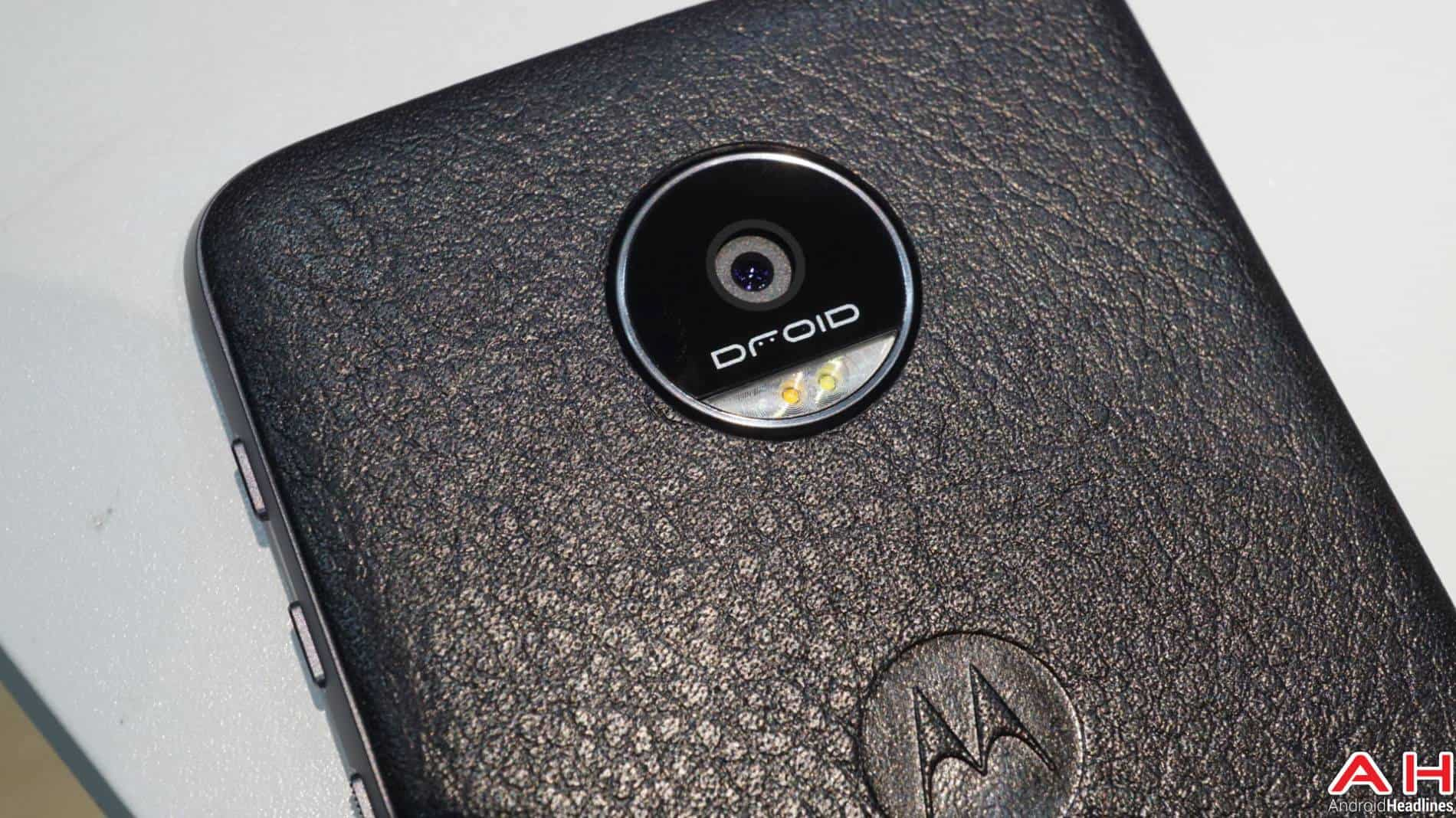 Lenovo Moto Z DROID Edition 2016 Hands On AH-8