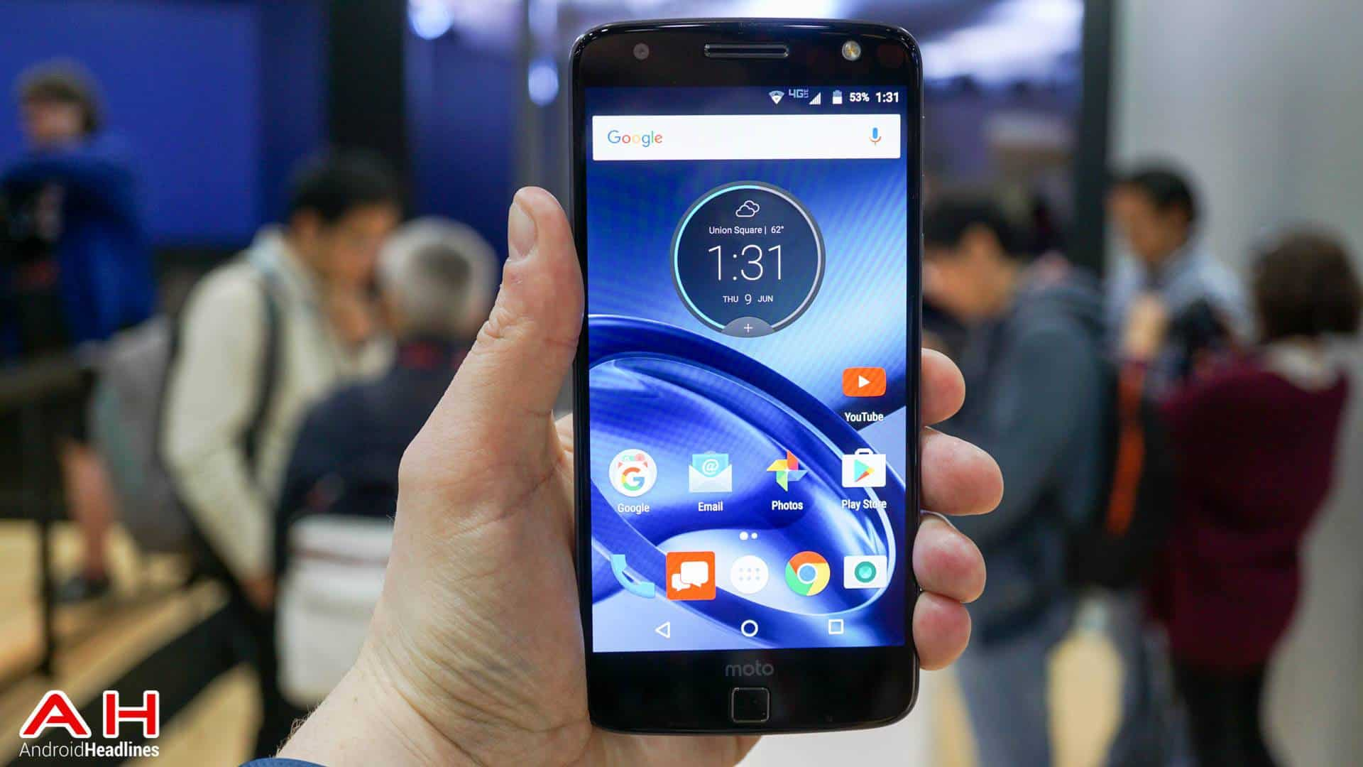 Lenovo Moto Z Force Droid Edition AH 4