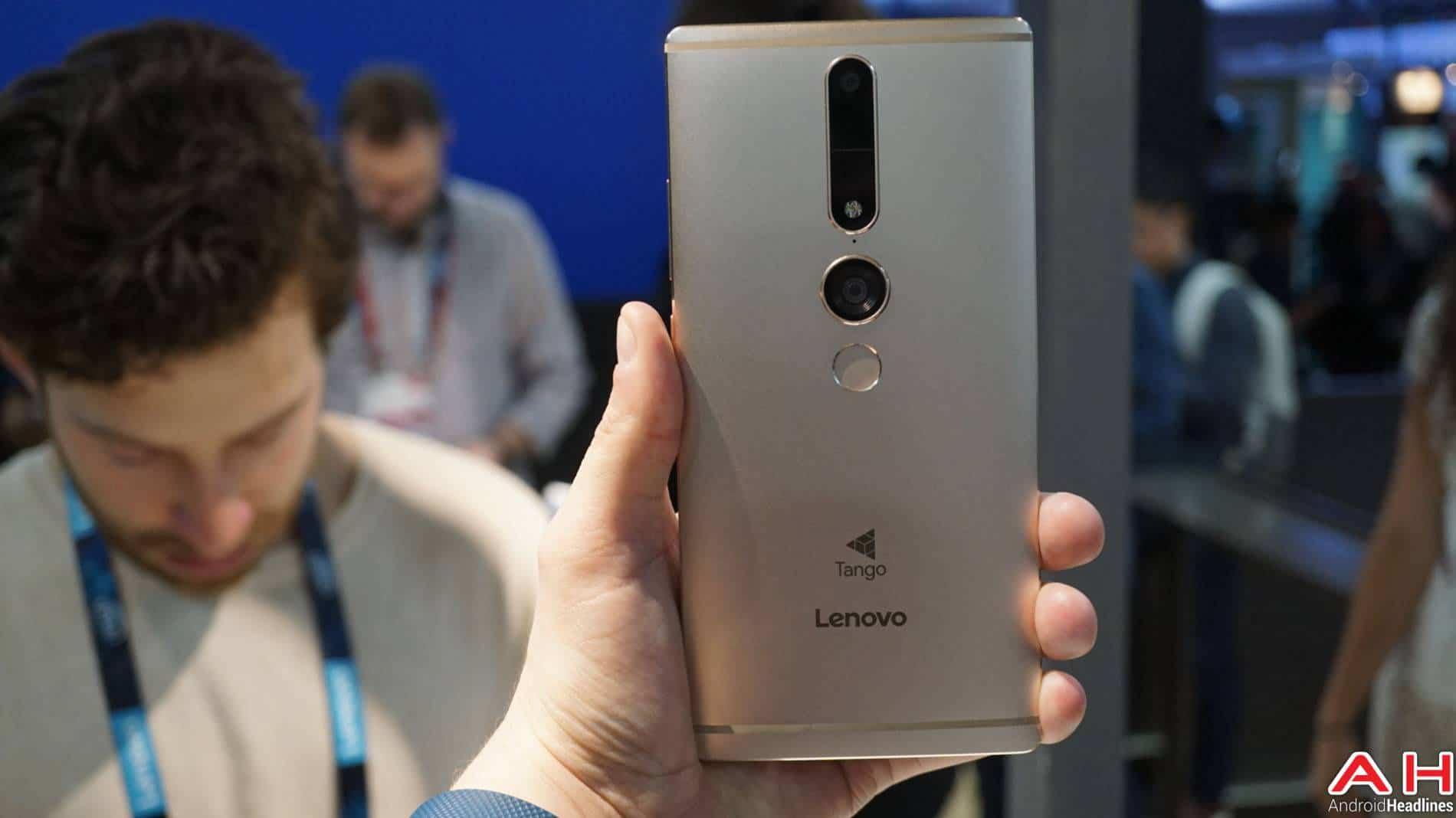 Lenovo Phab2 Pro Tango Hands On AH 12