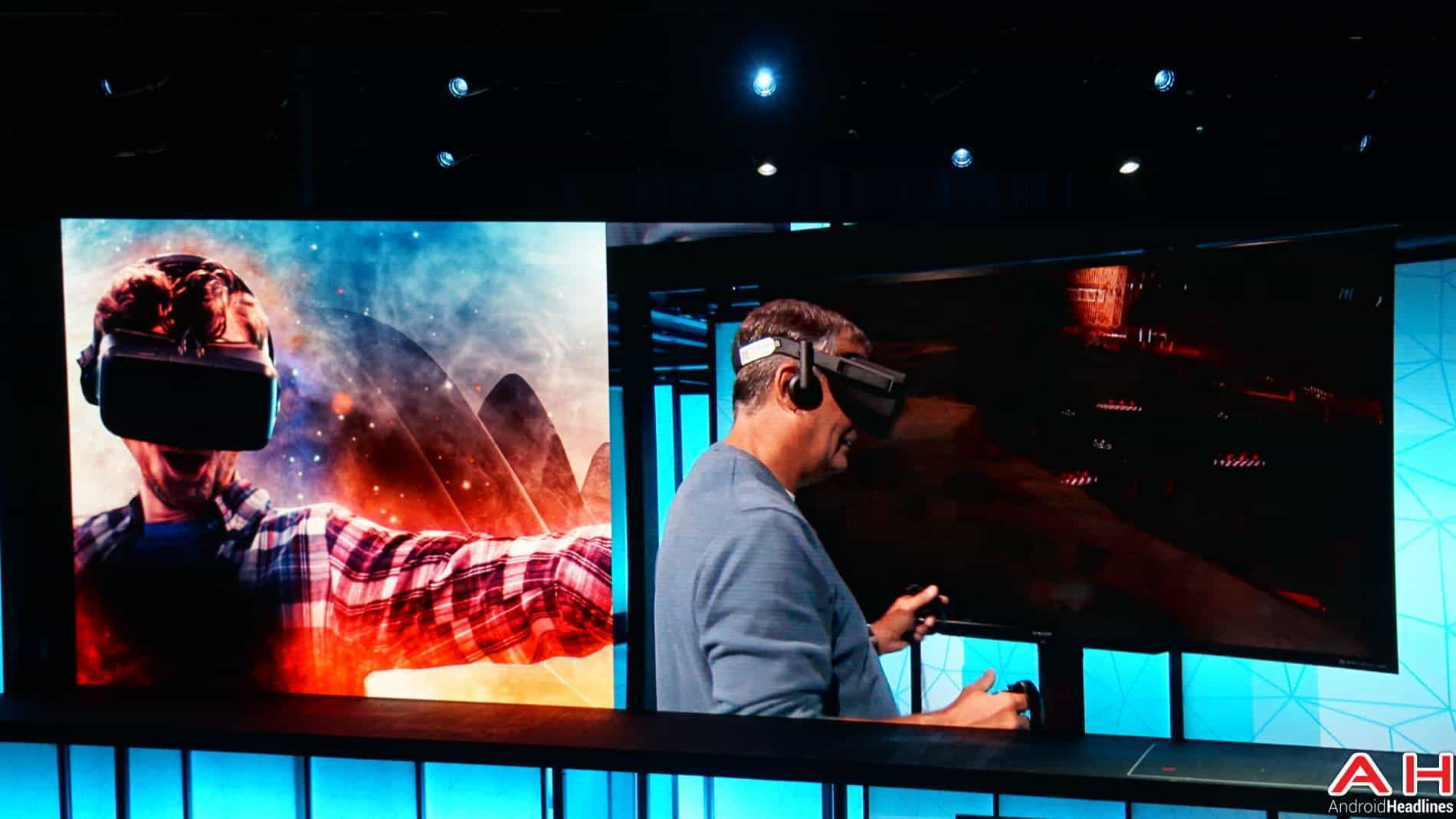 Lenovo Tech World VR Virtual Reality AH 1