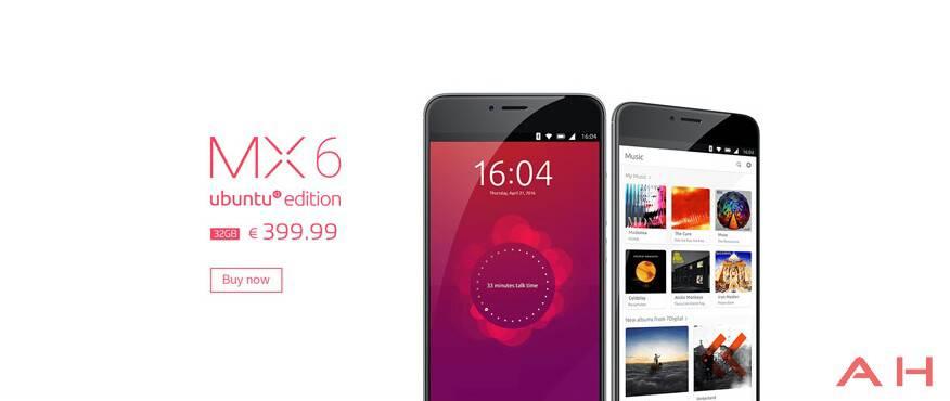 Meizu MX6 Ubuntu Edition 1