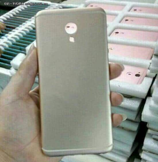 Meizu MX6 back cover leak 1