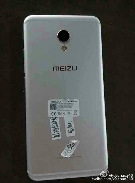 Meizu MX6 back leak 1