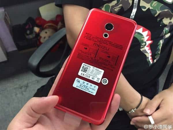 Meizu PRO 6 Red and Rose Gold leak 3