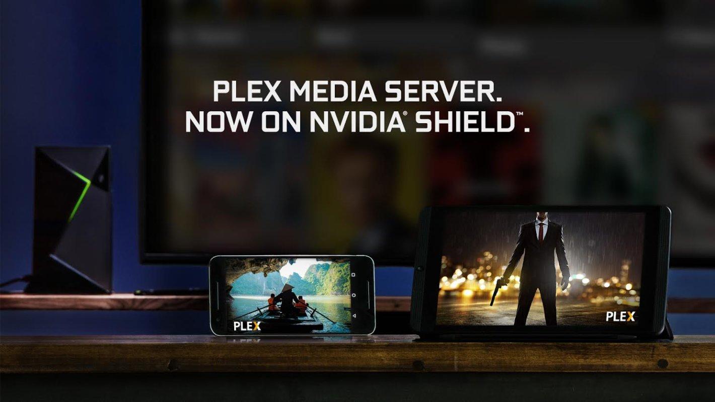 Serveur multimédia NVIDIA SHIELD Plex