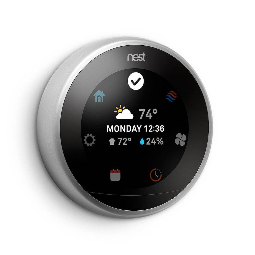Nest Learning Thermostat 01