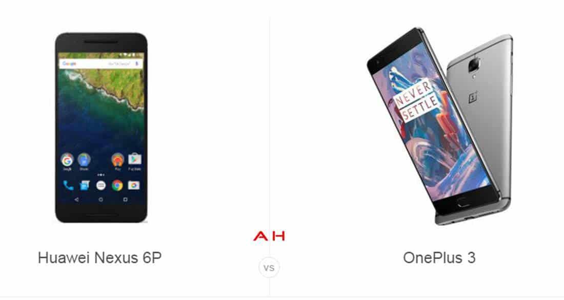 Nexus 6P vs OnePlus 3 cam AH