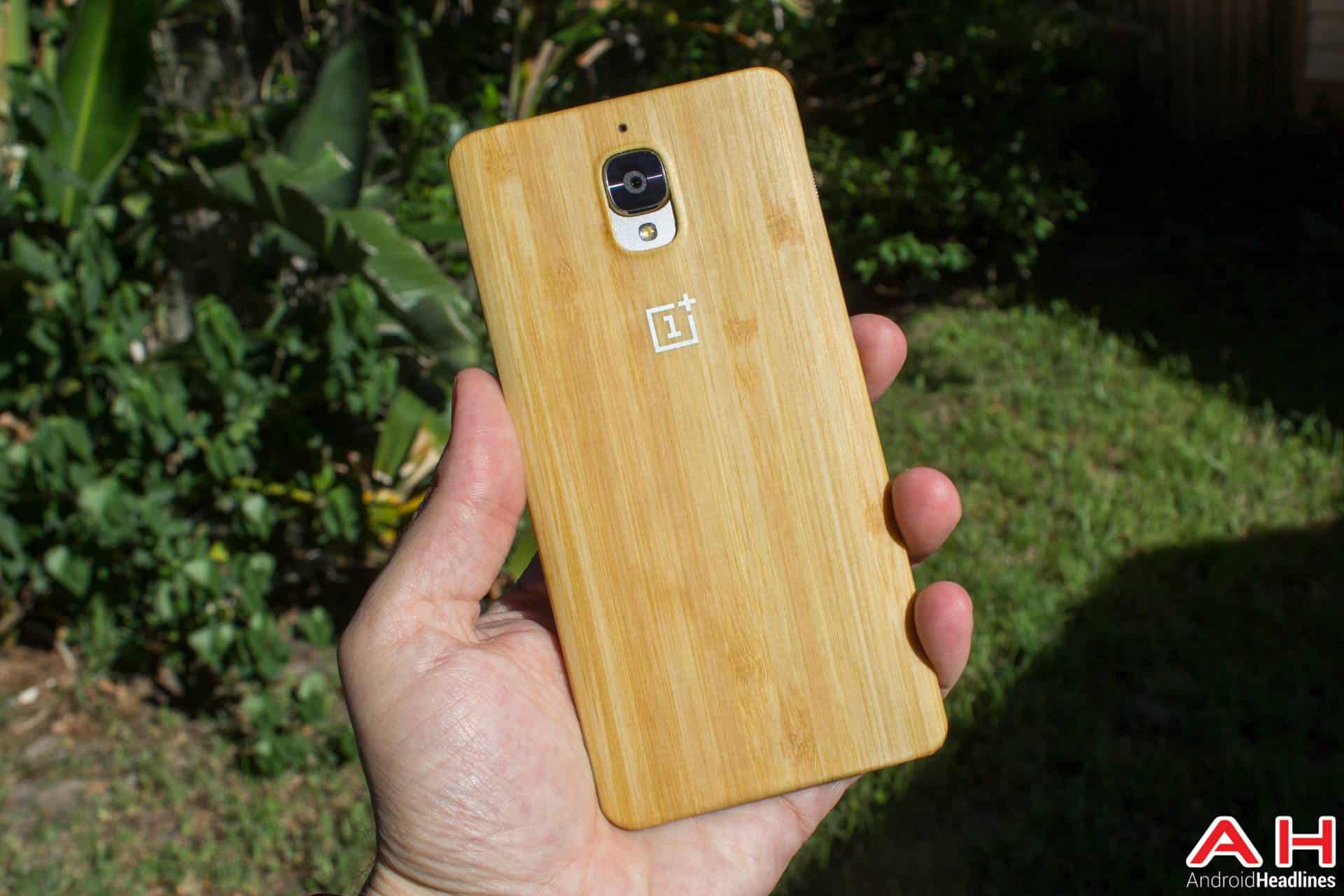 OnePlus 3 AH NS case bamboo
