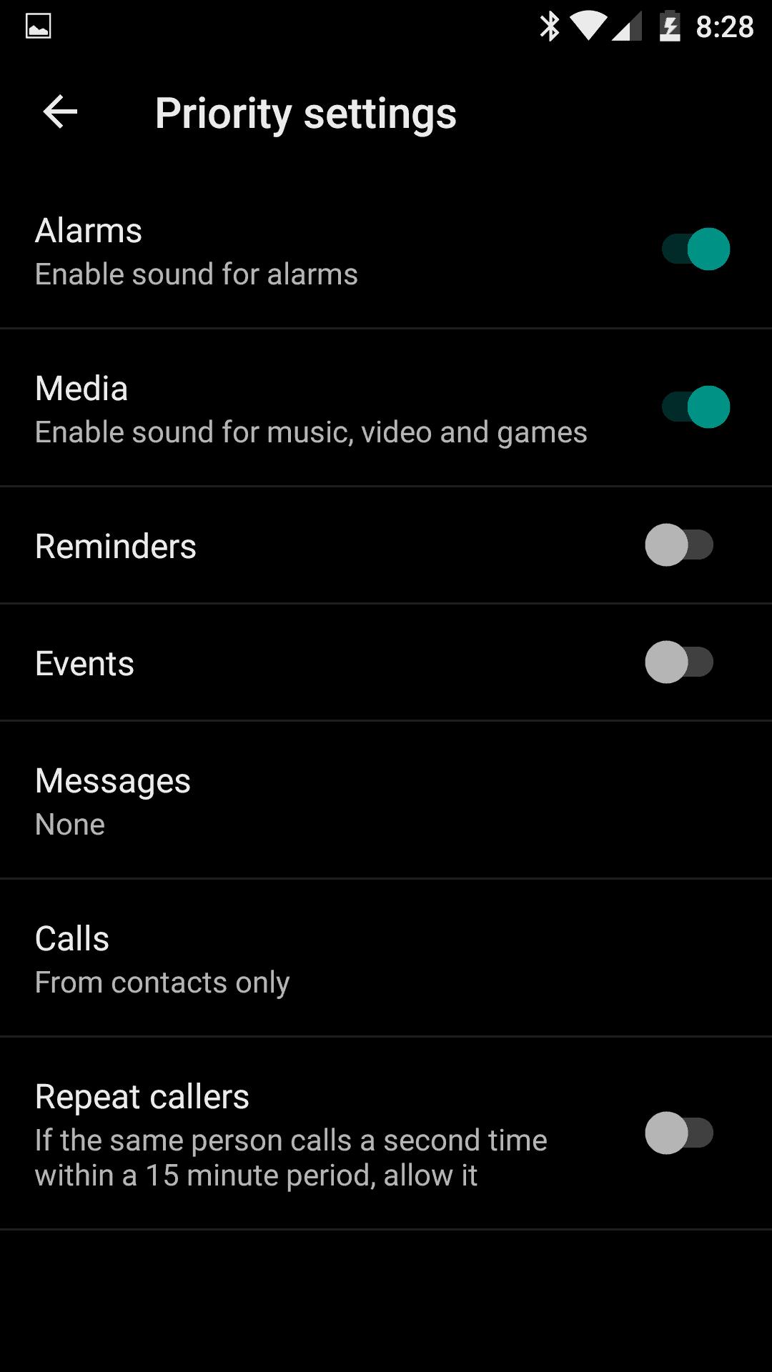 OnePlus 3 AH NS screenshot alerts 2