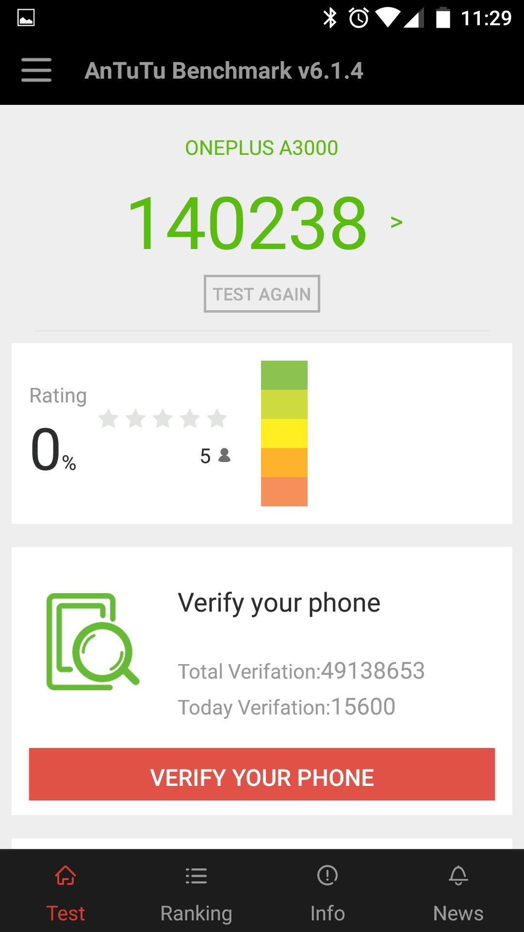 OnePlus 3 AH NS screenshot benchmark 06